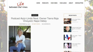 Life between the Vines interview with Linda Neal